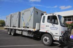 Minicube (8') container transport