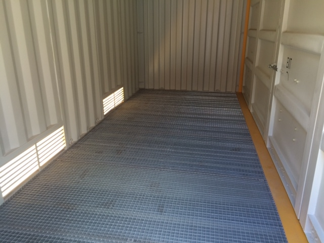 20' new dangerous goods side opening container 4