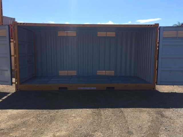 20' new dangerous goods side opening container 3