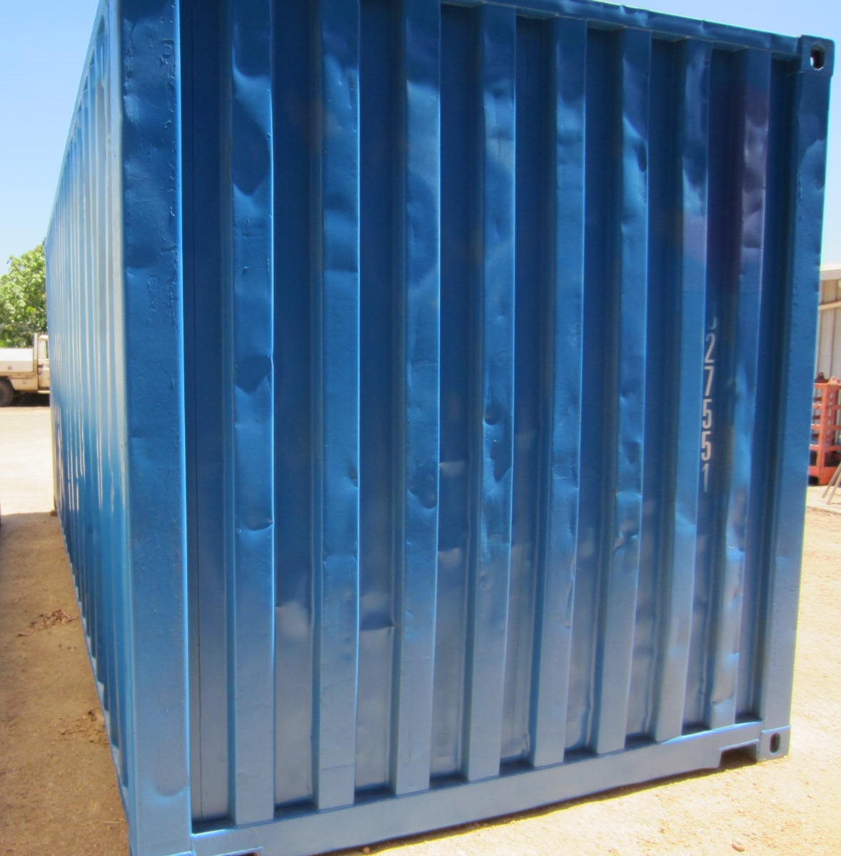 20' second hand blue container 2