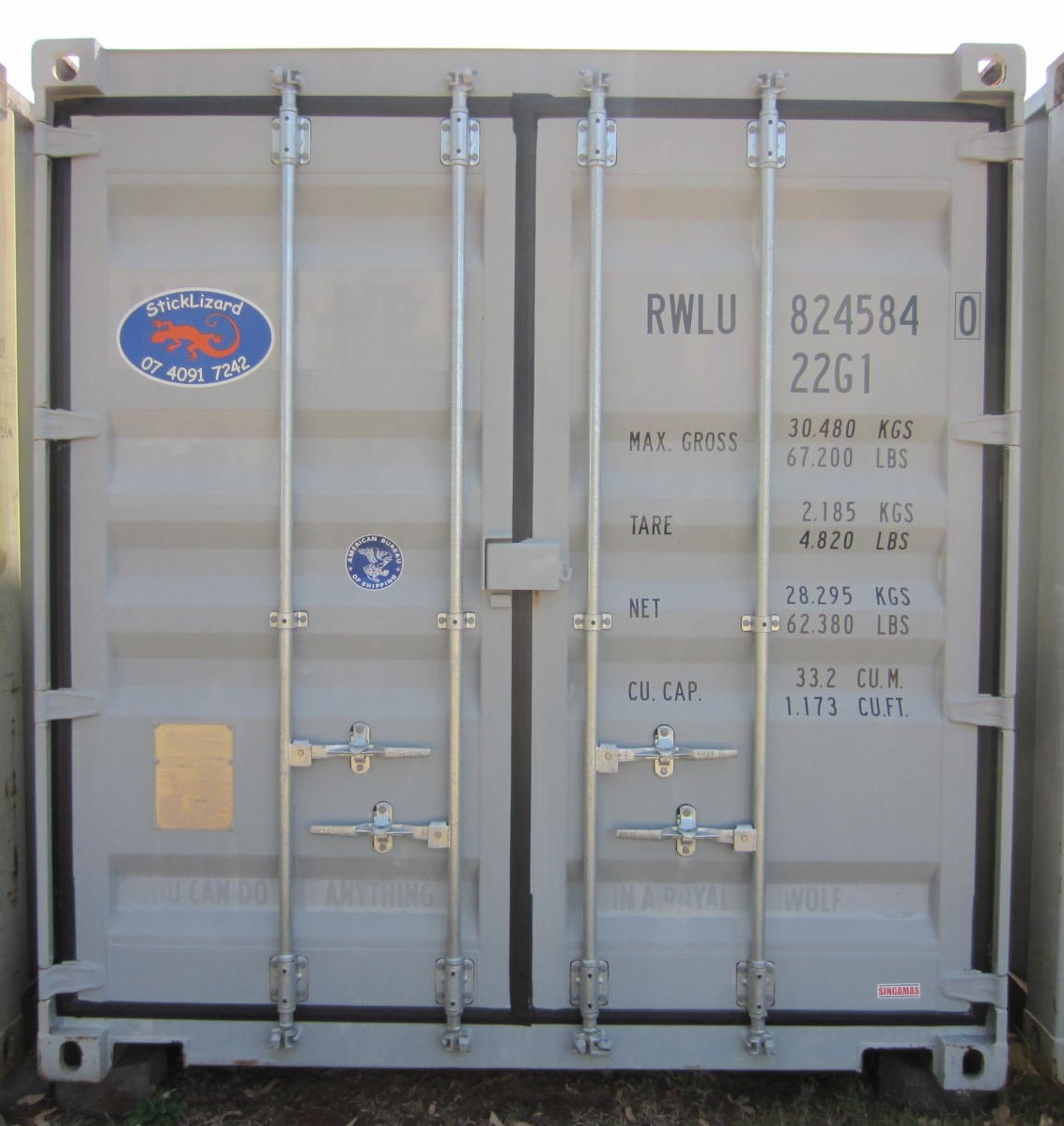 20' as new standard height container 1