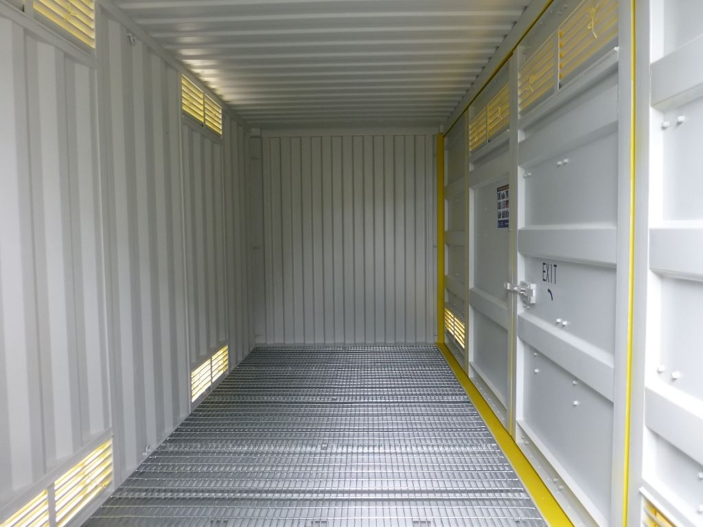 20' Side opening dangerous goods container 2