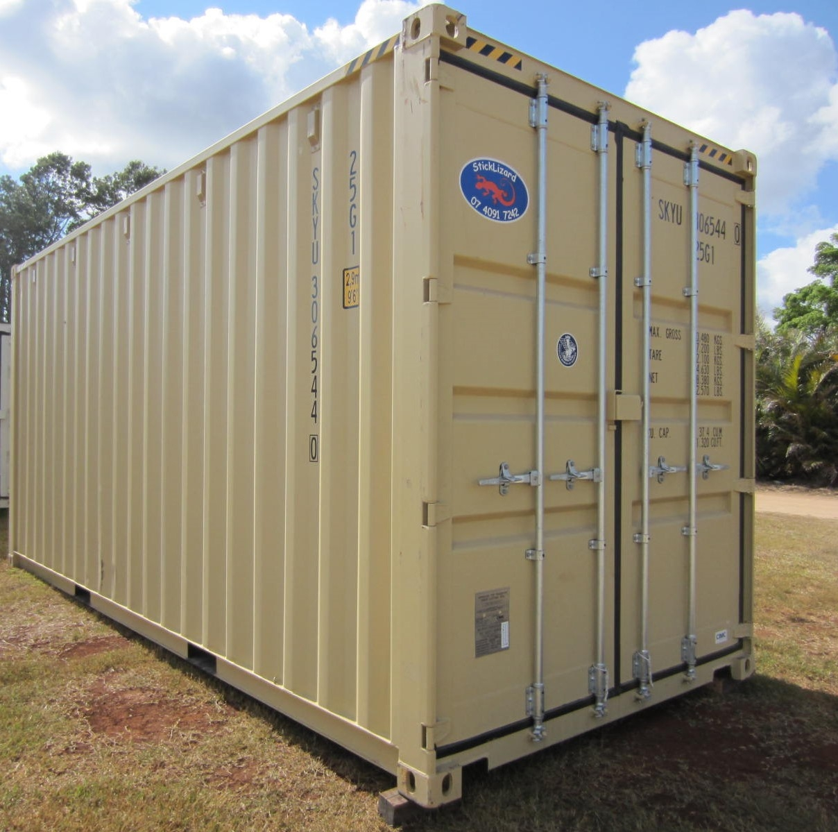 20' premium quality high cube container 1