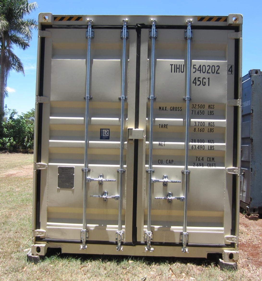 40' as new high cube shipping container 1