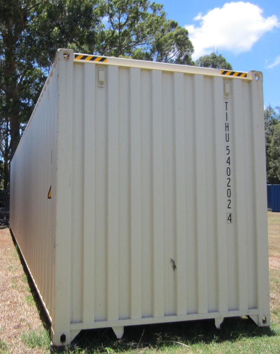 40' as new high cube shipping container 2