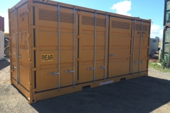 20' new dangerous goods side opening container 1