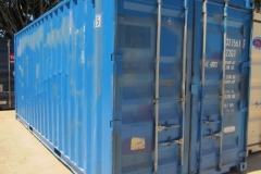 20' second hand blue container 1