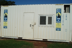 20' high cube site office 1