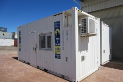 20' high cube site office 2