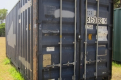 20' second hand standard height container 1