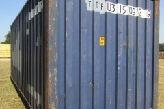 20' second hand standard height container 2
