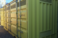 20' Side opening dangerous goods container 1