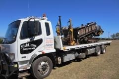 Drill rig transport