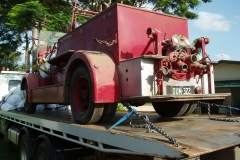 Fire truck transport