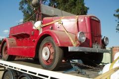 Fire truck transport