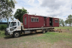 Railway carriage transport