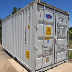 20' High cube shipping container (external)