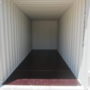 20' High cube shipping container (internal)